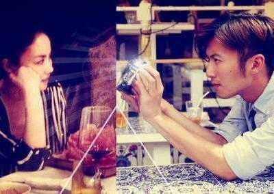 谢霆锋当初也深爱张柏芝 合拍门
