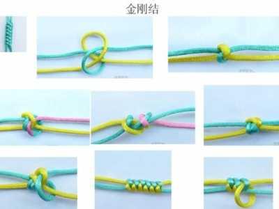 史上最全的手绳手链基本编法 手机链的编法