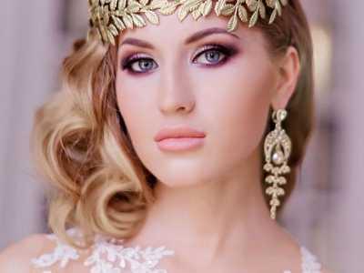 最新时尚新娘妆发2017流行婚礼新娘头 新娘妆的发型