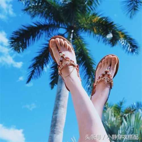 ins超火的罗马平底凉鞋 罗马凉鞋