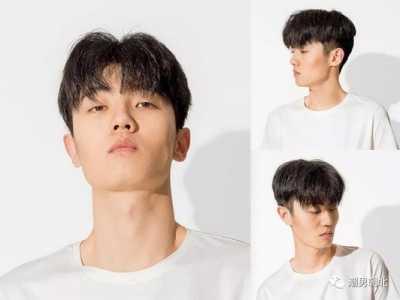 6款男生齐刘海无鬓角发型 男直刘海发型图片
