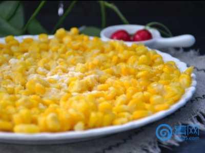 高颜值玉米菜 那玉米做的菜
