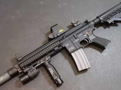 HK416突击步枪为何被称为是世界上最好的步枪 世上最先进的武器